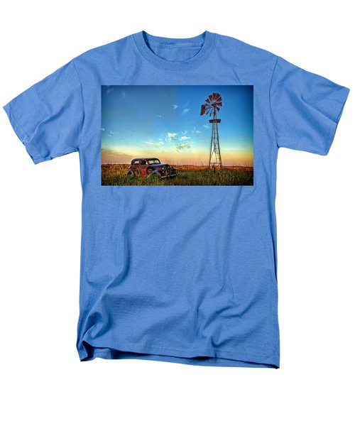 Men's T-Shirt  (Regular Fit) featuring the photograph Sunrise On The Farm by Ken Smith