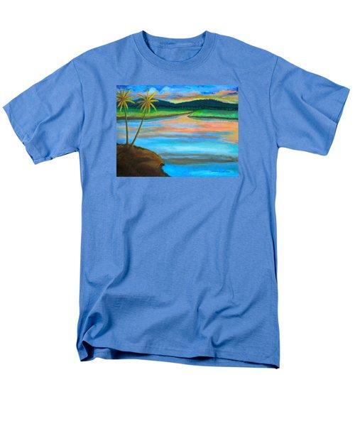 Sunset  Men's T-Shirt  (Regular Fit) by Lorna Maza