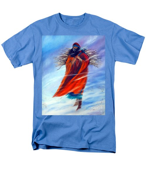 Men's T-Shirt  (Regular Fit) featuring the painting Surviving Another Day by Jackie Carpenter