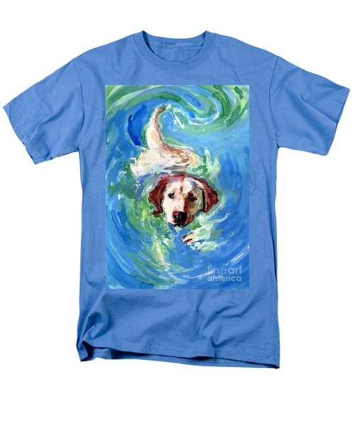 Swirl Pool Men's T-Shirt  (Regular Fit) by Molly Poole