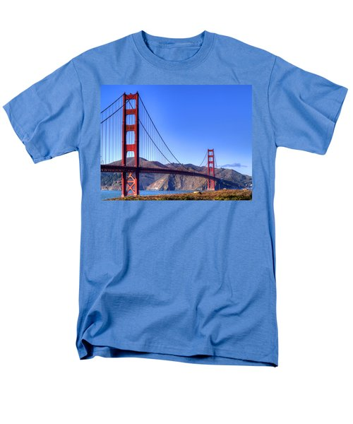 The Bridge Men's T-Shirt  (Regular Fit) by Bill Gallagher