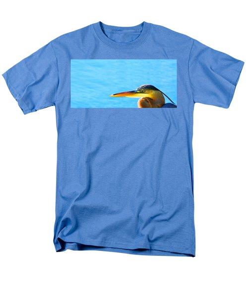 The Great One - Blue Heron By Sharon Cummings Men's T-Shirt  (Regular Fit) by Sharon Cummings