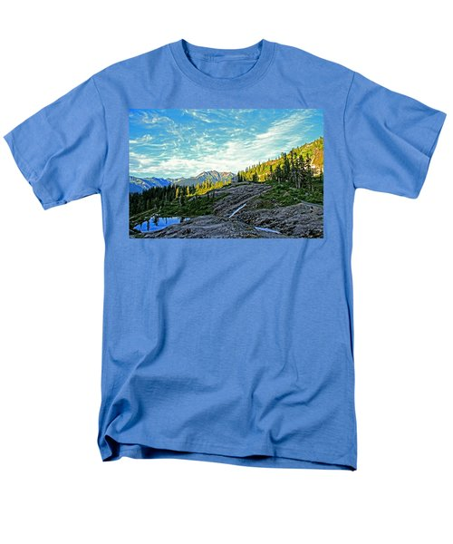 Men's T-Shirt  (Regular Fit) featuring the photograph The Hut. by Eti Reid