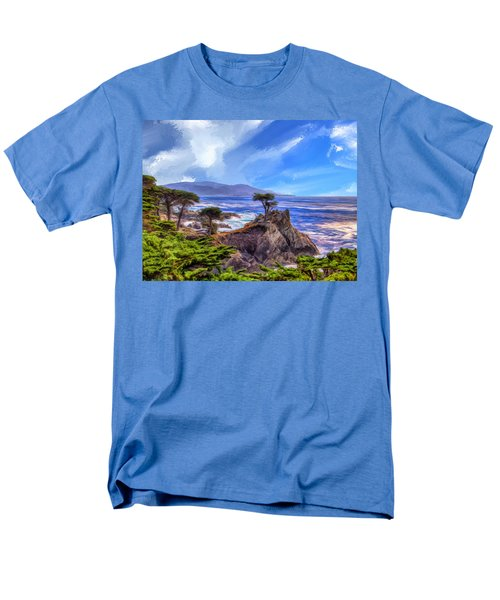 The Lone Cypress Men's T-Shirt  (Regular Fit) by Dominic Piperata
