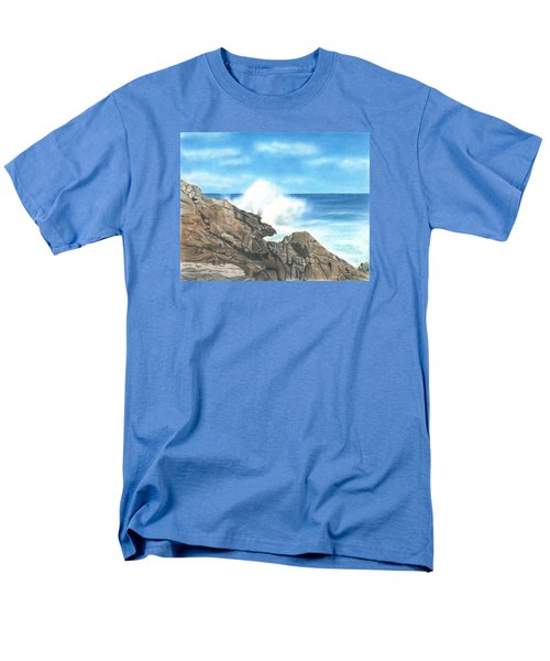 Men's T-Shirt  (Regular Fit) featuring the drawing The Marginal Way by Troy Levesque