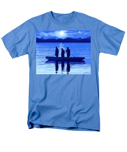 The Night Fishermen Men's T-Shirt  (Regular Fit) by Sophia Schmierer