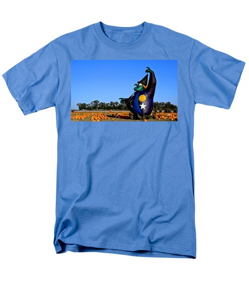 Men's T-Shirt  (Regular Fit) featuring the photograph The Old Witch by Michael Gordon