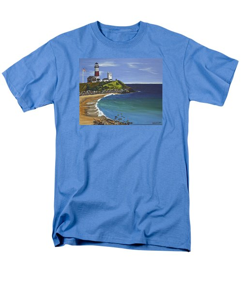 The Point Men's T-Shirt  (Regular Fit) by Donna Blossom