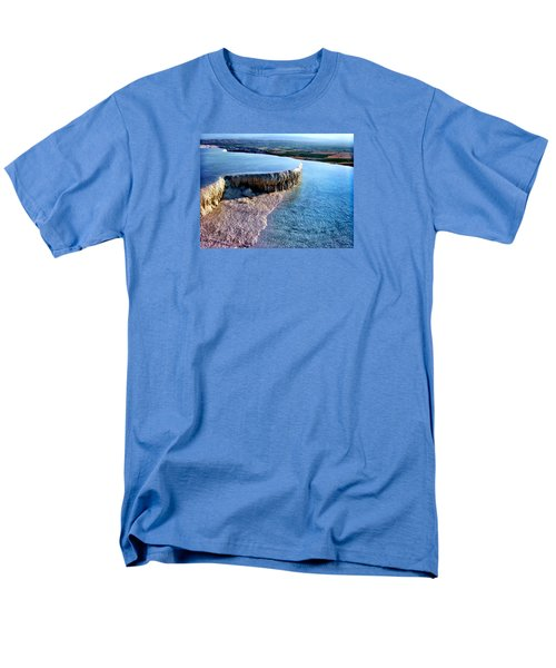 The Water With White Paint Men's T-Shirt  (Regular Fit) by Zafer Gurel