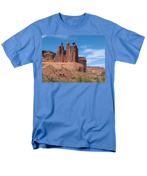 Three Kings Men's T-Shirt  (Regular Fit) by Fortunate Findings Shirley Dickerson