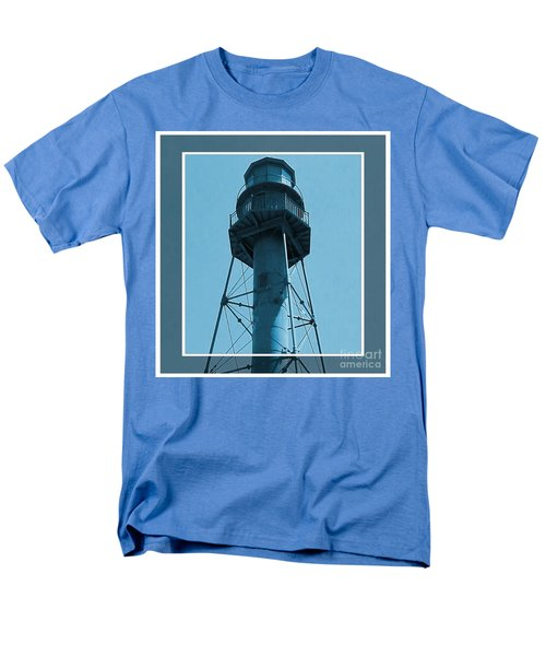 Men's T-Shirt  (Regular Fit) featuring the photograph Top Of Sanibel Island Lighthouse by Janette Boyd