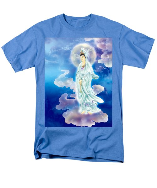Men's T-Shirt  (Regular Fit) featuring the photograph Tranquility Enabling Kuan Yin by Lanjee Chee