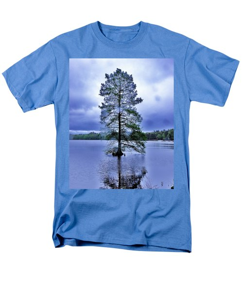 The Healing Tree - Trap Pond State Park Delaware Men's T-Shirt  (Regular Fit)