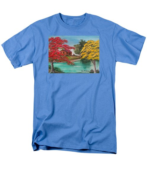 Tropical Lifestyle Men's T-Shirt  (Regular Fit) by Luis F Rodriguez