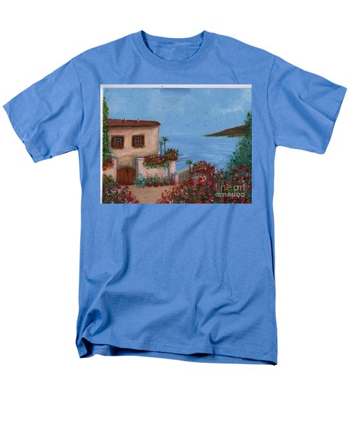 Tuscany View Men's T-Shirt  (Regular Fit) by Becky Lupe