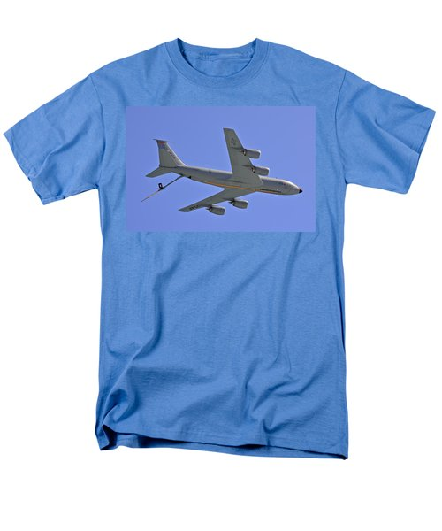 Men's T-Shirt  (Regular Fit) featuring the photograph U S Air Force Flyover by DigiArt Diaries by Vicky B Fuller