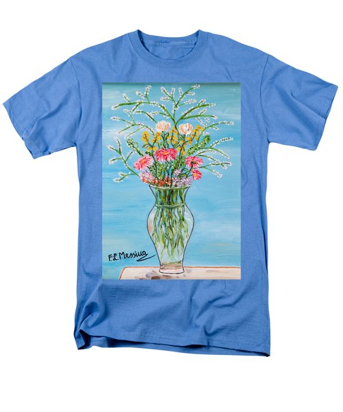 Men's T-Shirt  (Regular Fit) featuring the painting Un Segno by Loredana Messina
