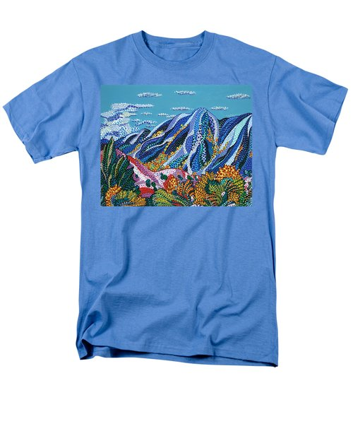 Up To The Mountains Men's T-Shirt  (Regular Fit) by Erika Pochybova