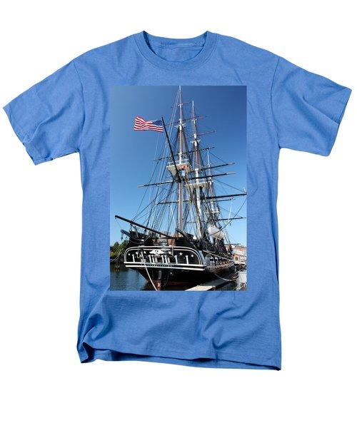Uss Constitution Men's T-Shirt  (Regular Fit) by Kristin Elmquist