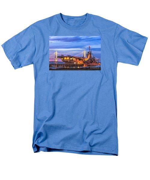Uss Yorktown Museum Men's T-Shirt  (Regular Fit) by Jerry Fornarotto