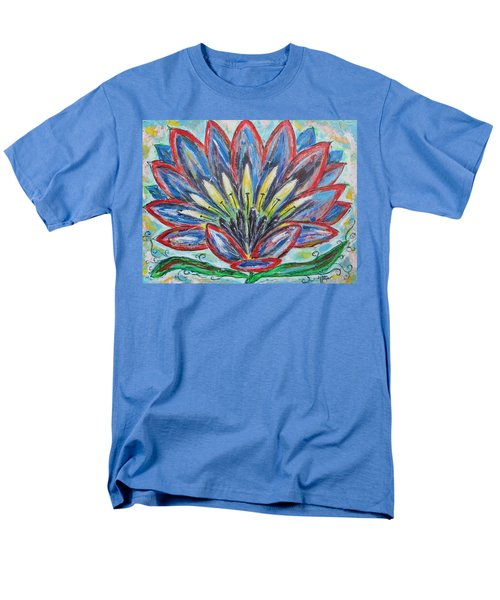 Men's T-Shirt  (Regular Fit) featuring the painting Hawaiian Blossom by Diane Pape
