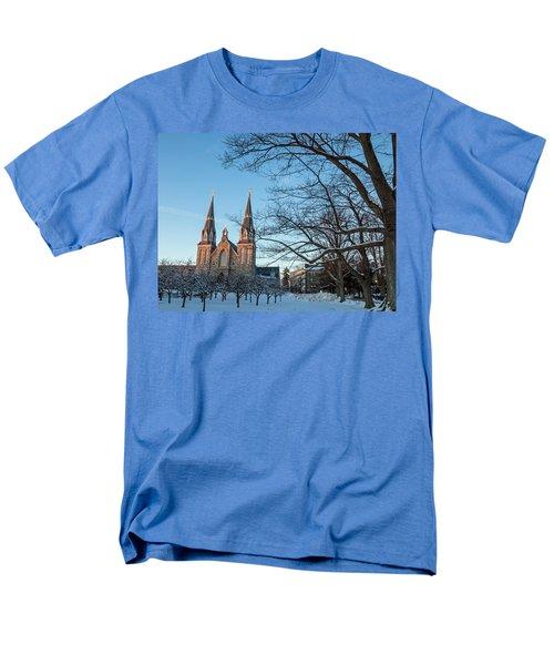 Villanova Winter Saint Thomas Men's T-Shirt  (Regular Fit) by Photographic Arts And Design Studio