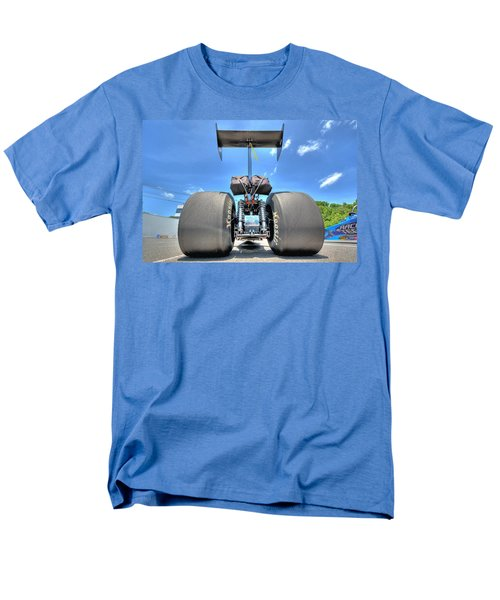 Men's T-Shirt  (Regular Fit) featuring the photograph Vintage Drag Racer by Gianfranco Weiss