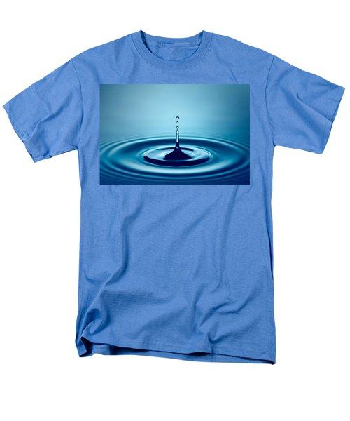 Water Drop Splash Men's T-Shirt  (Regular Fit) by Johan Swanepoel