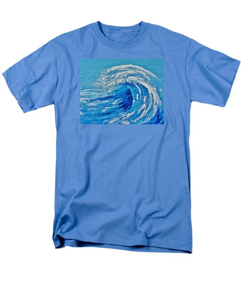 Men's T-Shirt  (Regular Fit) featuring the painting Wave by Katherine Young-Beck