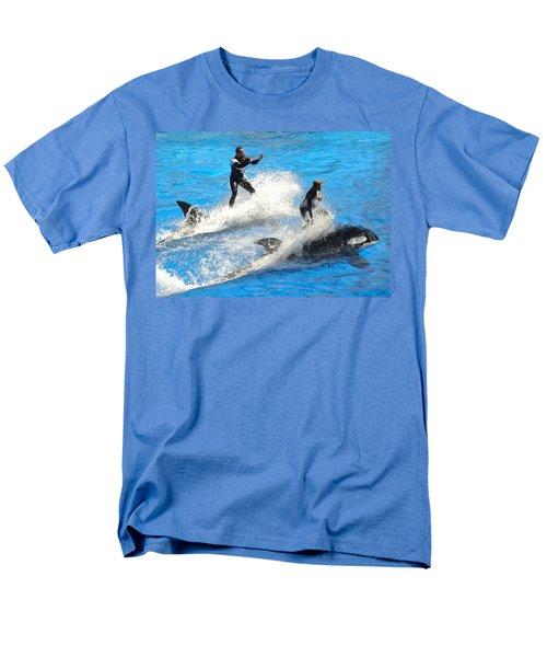 Whale Racing Men's T-Shirt  (Regular Fit) by David Nicholls