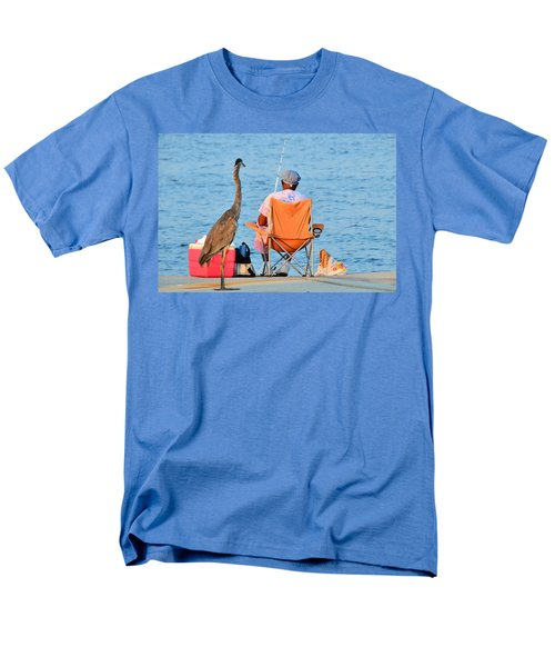 Men's T-Shirt  (Regular Fit) featuring the photograph What's For Lunch by Charlotte Schafer