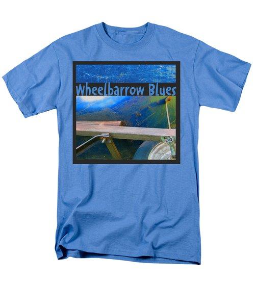 Men's T-Shirt  (Regular Fit) featuring the photograph Wheelbarrow Blues 1 by Brooks Garten Hauschild