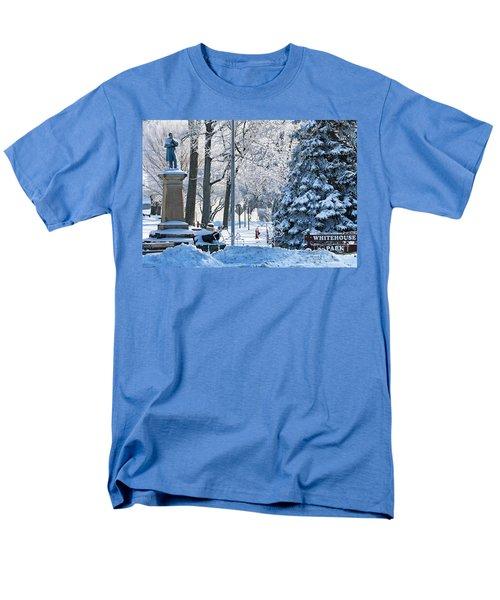 Whitehouse Village Park  7360 Men's T-Shirt  (Regular Fit) by Jack Schultz