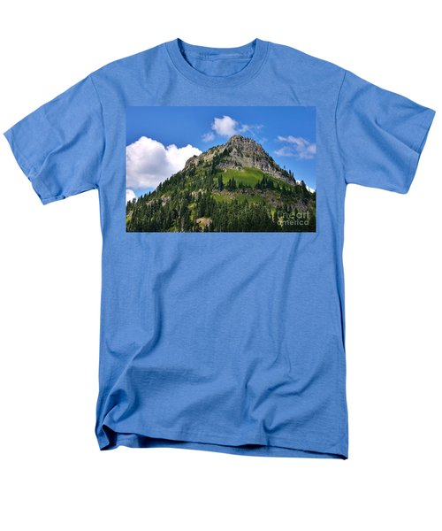 Men's T-Shirt  (Regular Fit) featuring the photograph Yakima Peak by Sean Griffin