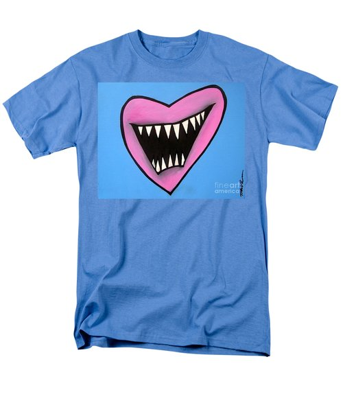 Zombie Heart Men's T-Shirt  (Regular Fit) by Thomas Valentine