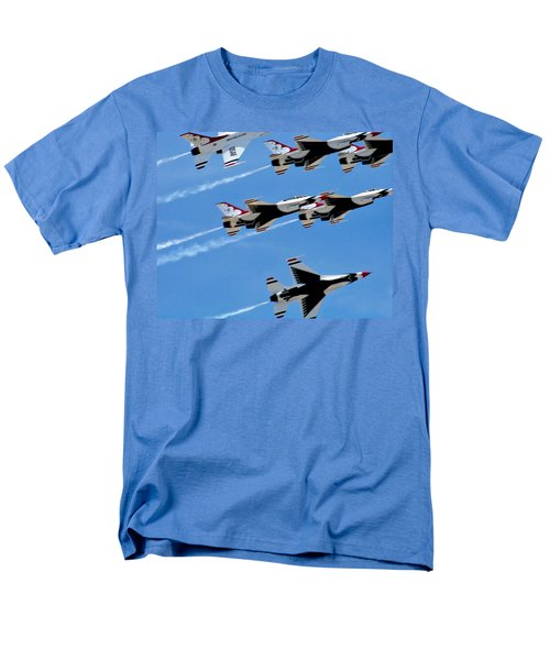 Zoom Men's T-Shirt  (Regular Fit) by Judy Wanamaker