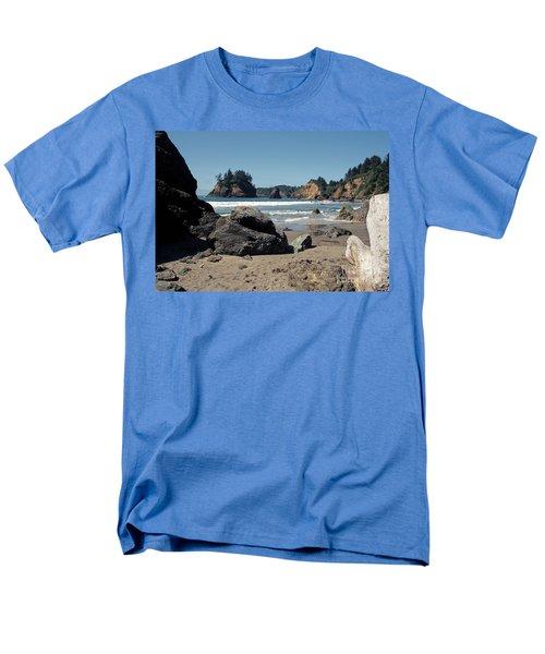 Trinidad Beach Men's T-Shirt  (Regular Fit) by Sharon Elliott