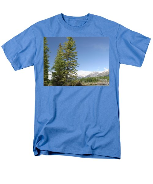 Men's T-Shirt  (Regular Fit) featuring the photograph America The Beautiful by Living Color Photography Lorraine Lynch