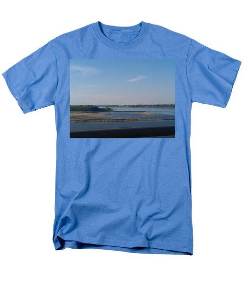 Arkansas Crossing Men's T-Shirt  (Regular Fit) by Kelly Turner