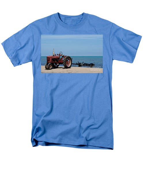 Men's T-Shirt  (Regular Fit) featuring the photograph Boat Trailer by Barbara McMahon
