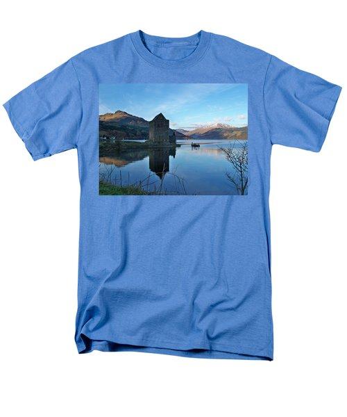 Men's T-Shirt  (Regular Fit) featuring the photograph Carrick Castle by Lynn Bolt