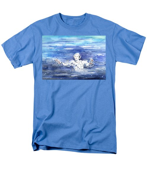 David Bowie In Ashes To Ashes Men's T-Shirt  (Regular Fit) by Miki De Goodaboom