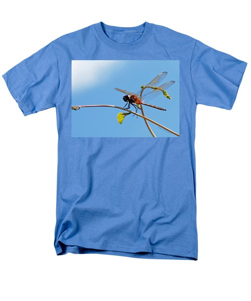 Dragonfly On A Vine Men's T-Shirt  (Regular Fit) by Kay Lovingood