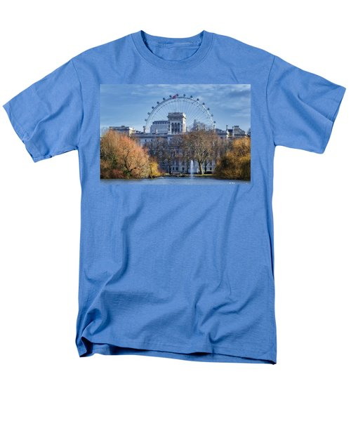 Eyeing The View Men's T-Shirt  (Regular Fit) by Joan Carroll