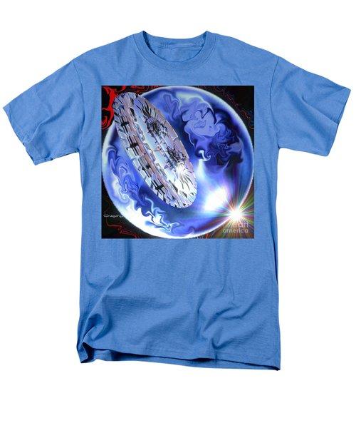 Men's T-Shirt  (Regular Fit) featuring the digital art Final Approach by Greg Moores
