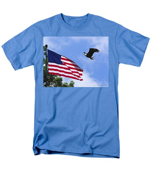 Men's T-Shirt  (Regular Fit) featuring the photograph Freedom Feeds The Family by Randall Branham