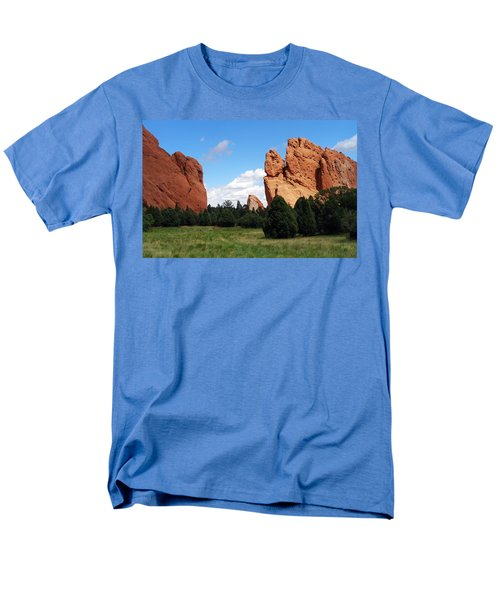 Men's T-Shirt  (Regular Fit) featuring the photograph Garden Of The Gods by David Pantuso