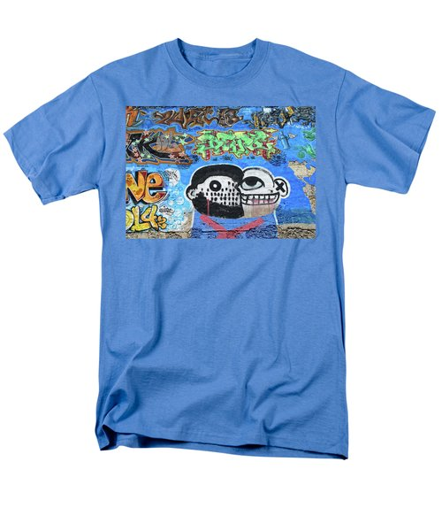 Men's T-Shirt  (Regular Fit) featuring the photograph Graffiti Provence France by Dave Mills
