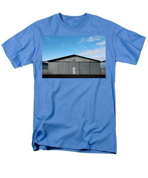 Men's T-Shirt  (Regular Fit) featuring the photograph Hangar 2 The Building by Kathleen Grace
