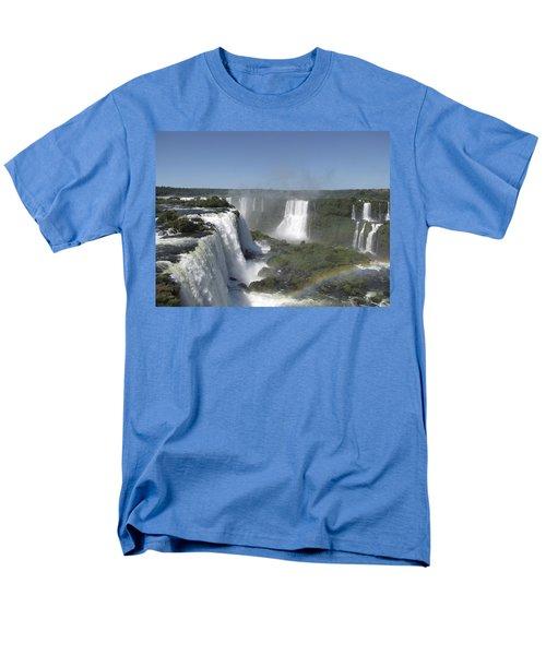 Men's T-Shirt  (Regular Fit) featuring the photograph Iguazu Falls by David Gleeson